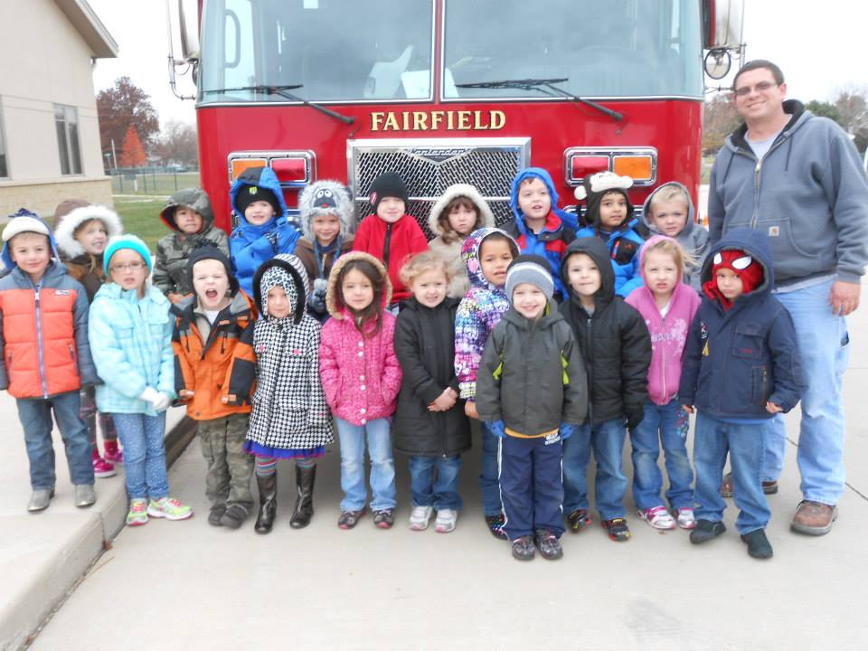 Our visit to the local Fire Station!