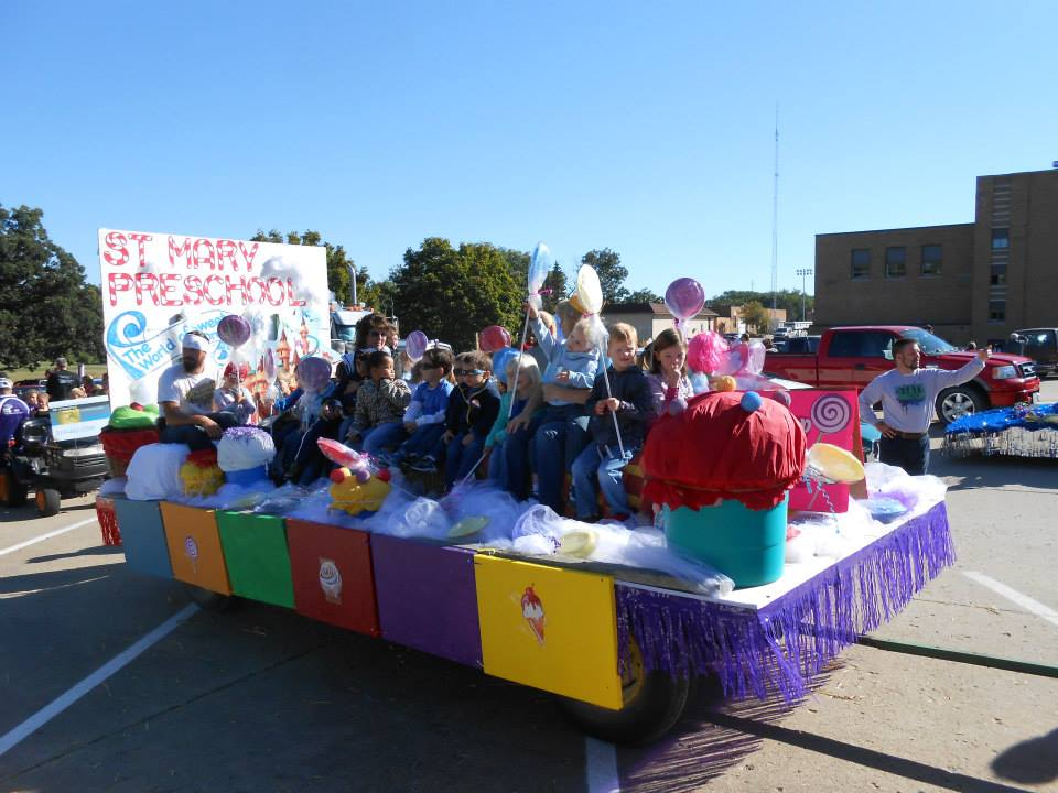 We all had fun on the Kid's Day Parade!